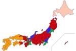 ファミレス勢力図の都道府県別ランキング画像