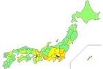 日本人HIV感染者数