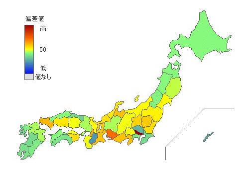 都道府県別県内総生産