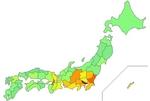 日本人・在日外国人合計HIV感染者数